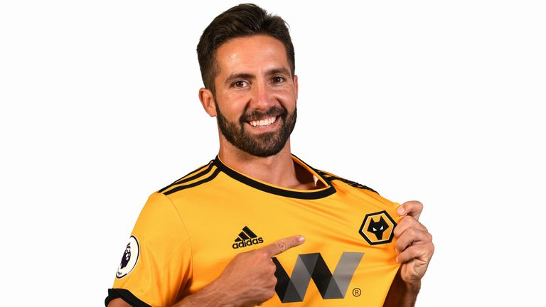 Joao Moutinho is delighted with his move to Wolves.
