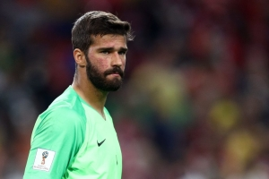 "Liverpool fullback Trent Alexander-Arnold has praised Alisson as a ""world-class goalkeeper""."