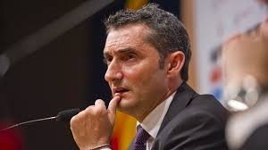 Barcelona coach Ernesto Valverde has confirmed there's a 12 month option in his contract.