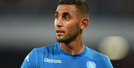 Napoli have rejected an offer from Manchester United for Faouzi Ghoulam.