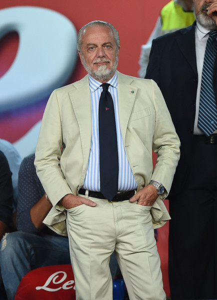 Napoli president Aurelio De Laurentiis is against the use of Financial Fair Play.
