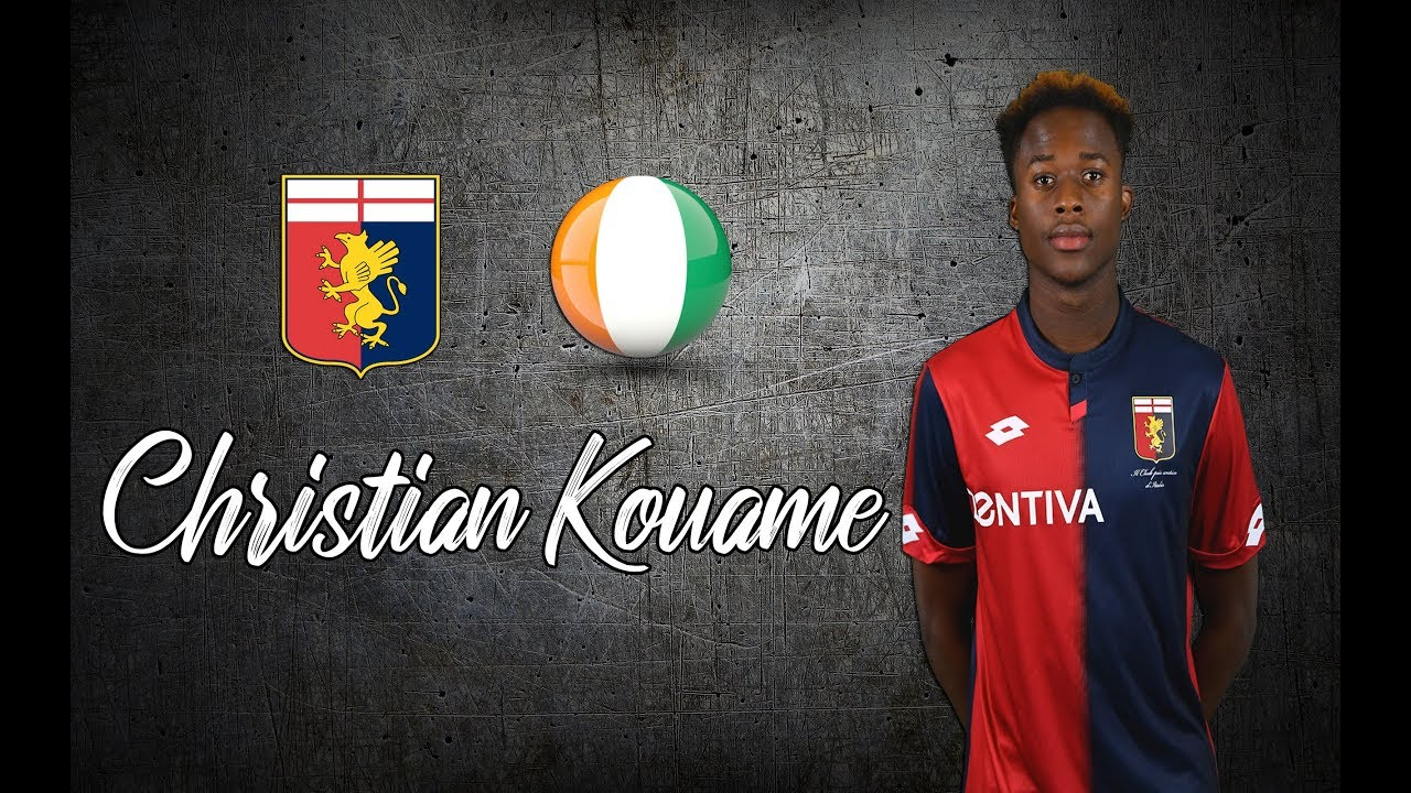 Napoli made an agreement with Genoa for Christian Kouame.