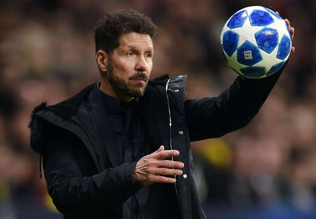 Manchester United approached Atletico Madrid coach Diego Simeone.