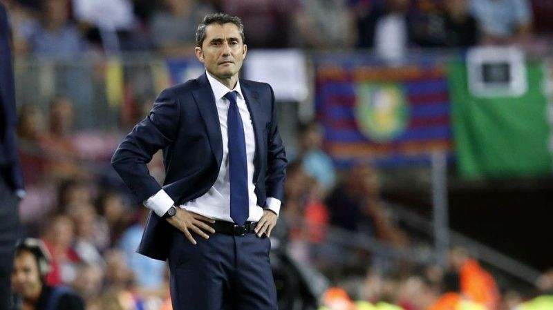 Barcelona coach Ernesto Valverde insists he's counting on Malcom this season.