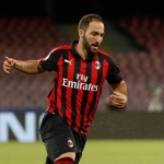AC Milan striker Gonzalo Higuain got snappy with reporters after defeat to Juventus.