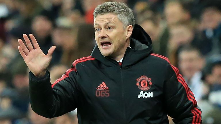 Manchester United boss Ole Gunnar Solskjaer revisited his problems at Cardiff City.