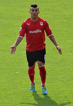 Besitkas midfielder Gary Medel is coy over his future beyond the end of this season.